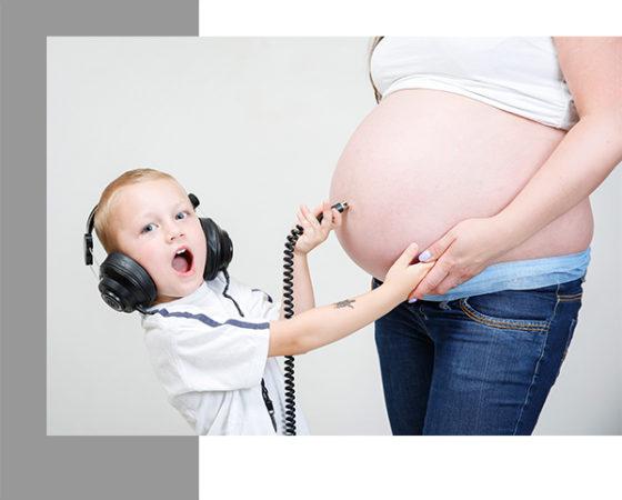 Těhotenské fotografie